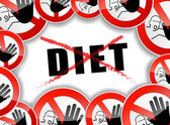 Fotografie žádná dieta abstraktní pojem