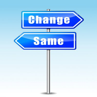 change and same concept