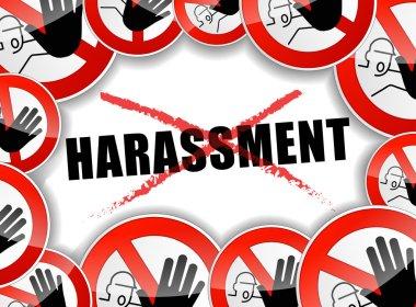 no harassment concept