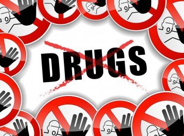 no drugs concept