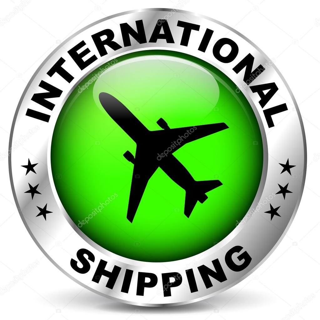 International shipping icon
