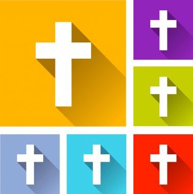 christian cross icons