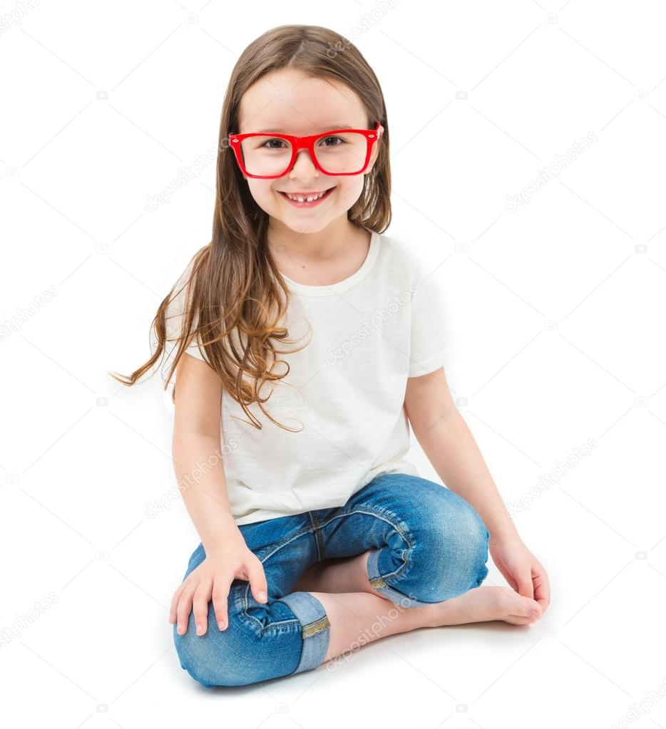 girl sitting down