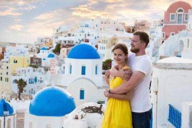 Love story Santorini