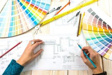 designer architect decorator Workplace