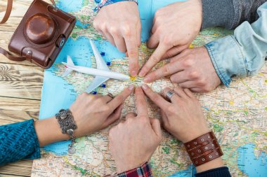 six cool friends are planning euro trip