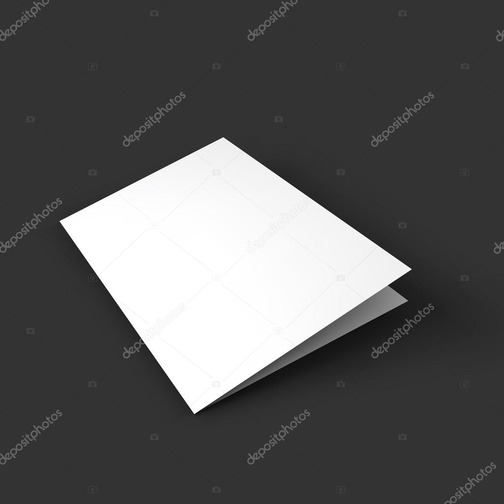 Magazine, booklet, postcard, business card or brochure mockup ...