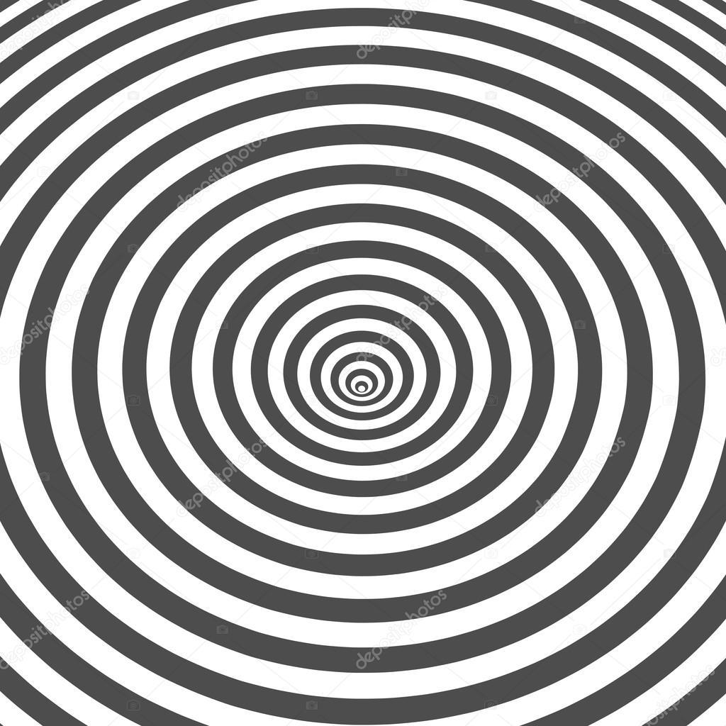 Sfondo A Righe Bianco E Nero Illusione Ottica Disegno Di Arte Op