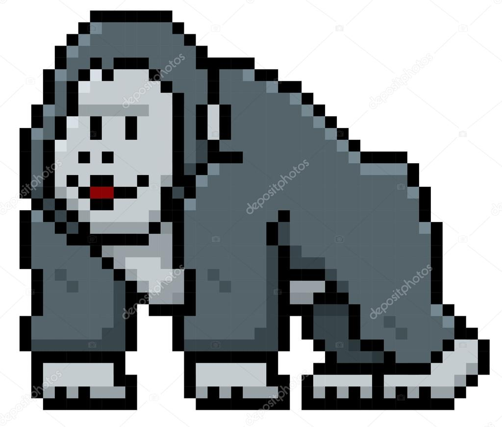 Cartoon Gorilla character