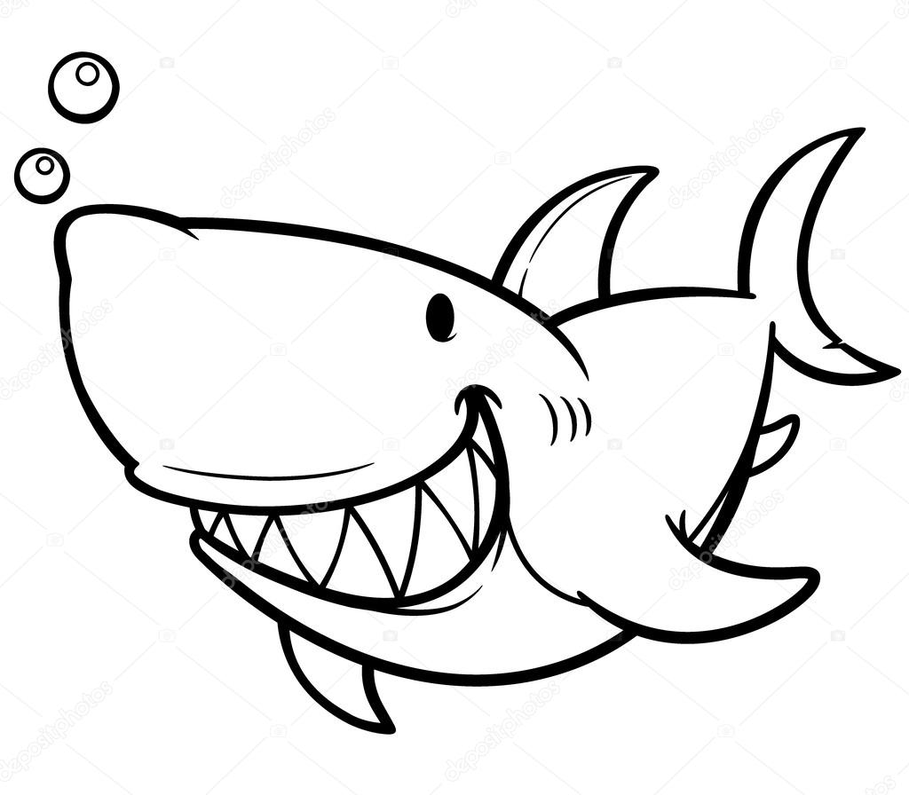 Shark Stock Vector Sararoom 53632331