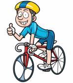 Výsledek obrázku pro kreslený obrázek cyklisty