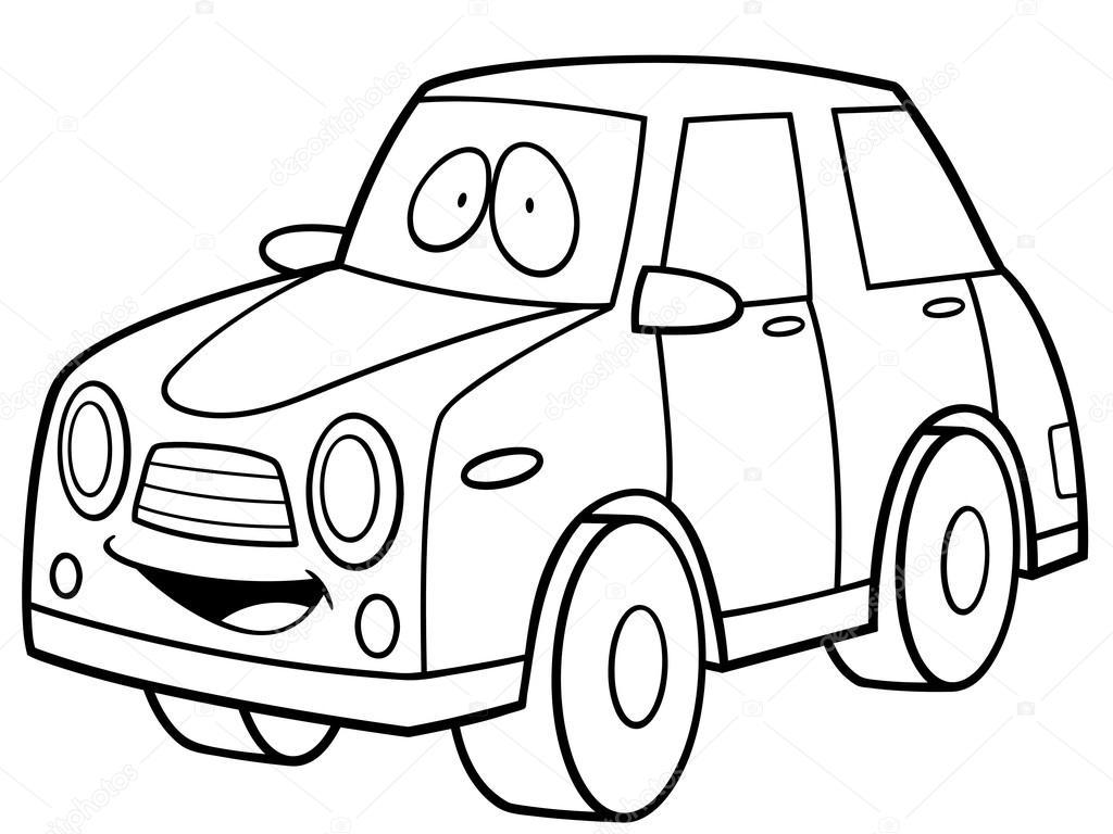 coche de dibujos animados — Vector de stock © sararoom #83292896