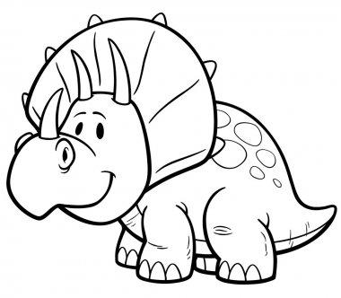 Cartoon Dinosaur character