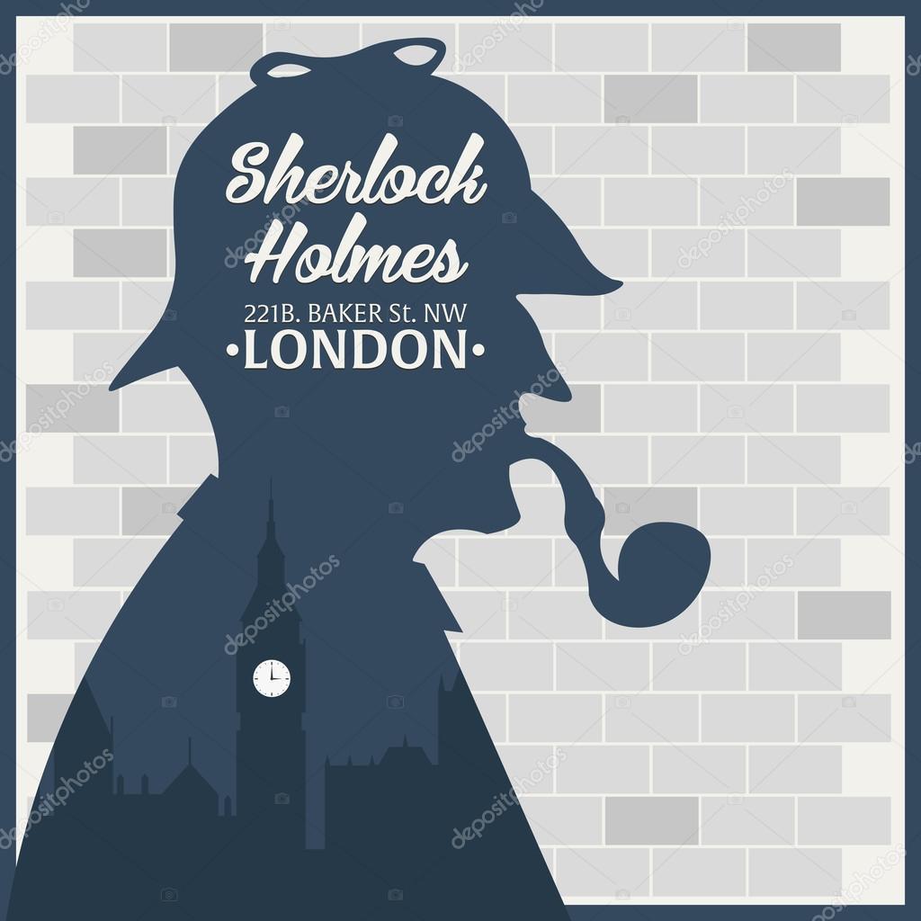 нас старые открытки таблички шерлок холмс даже специальная