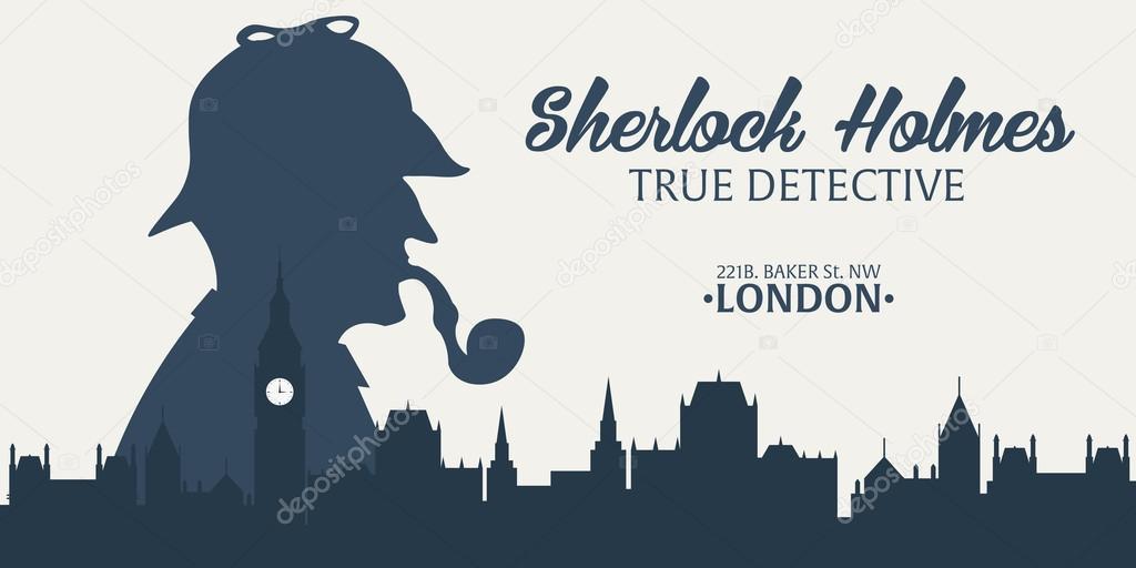 シャーロック ホームズ探偵の図シャーロック ホームズの