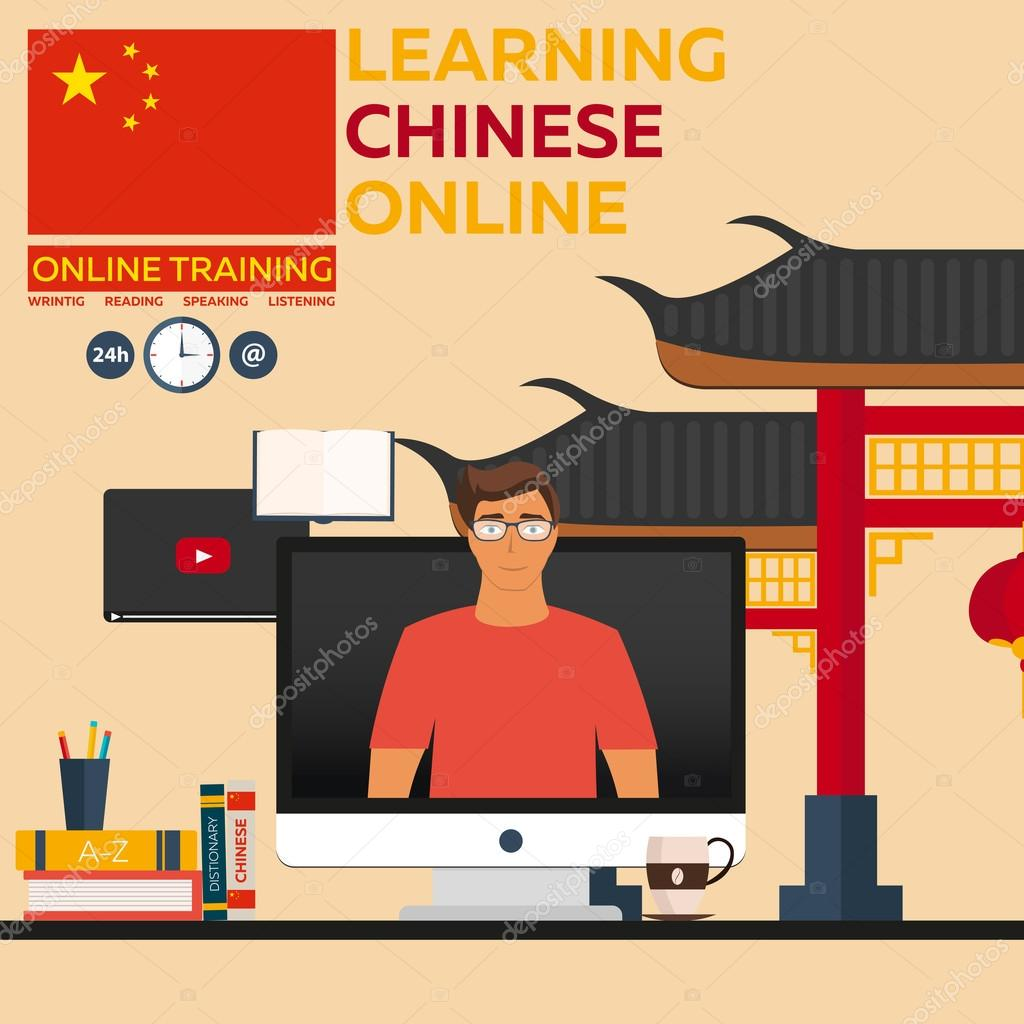 Chinese language tutorial online.