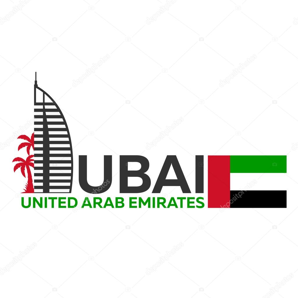 dubai logo uae united arab emirates � stock vector 169 leo