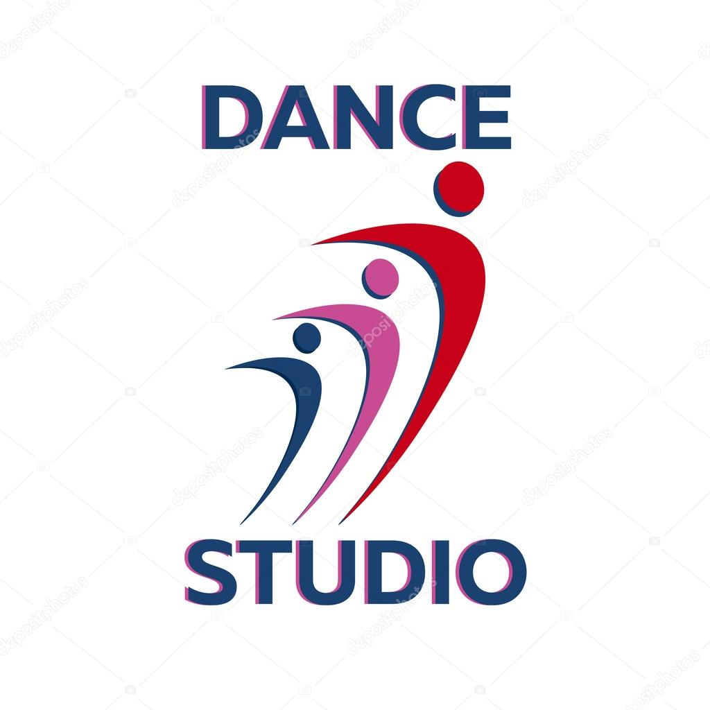 dance logo badge and emblem woman dancing dance studio logo rh depositphotos com dance studio logo maker dance studio logos samples