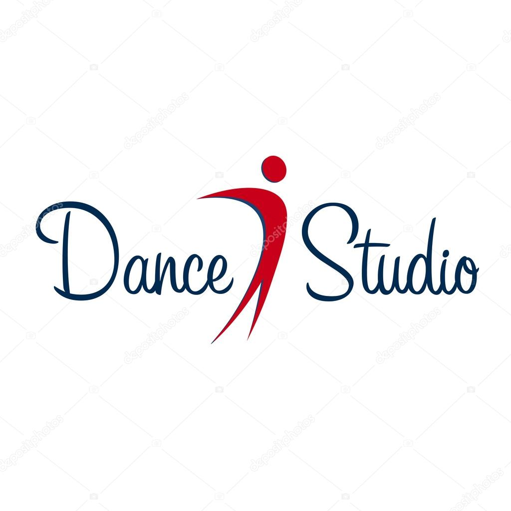 dance logo badge and emblem woman dancing dance studio logo rh depositphotos com dance studio logo ideas dance studio logos samples