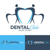 Dental logo. Dental clinic. Dentist Logo. Vector logo