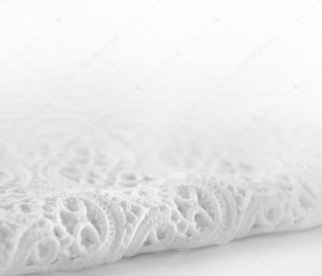 Smooth elegant white lace background