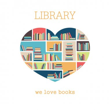 Logo, print to the library or bookstore. BookCrossing.