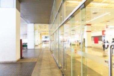 Exhibition center, modern building, exhibition centers, motion blur