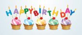 Šťastné narozeniny koláčky