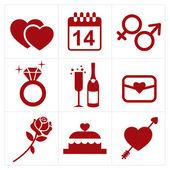 Valentinky ikona