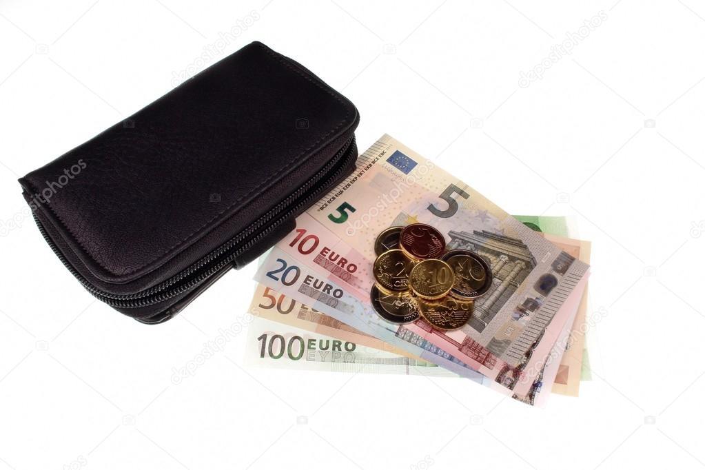 Portemonnee 10 Euro.Euro Geld En Portemonnee Stockfoto C Adam88xxx 66766023