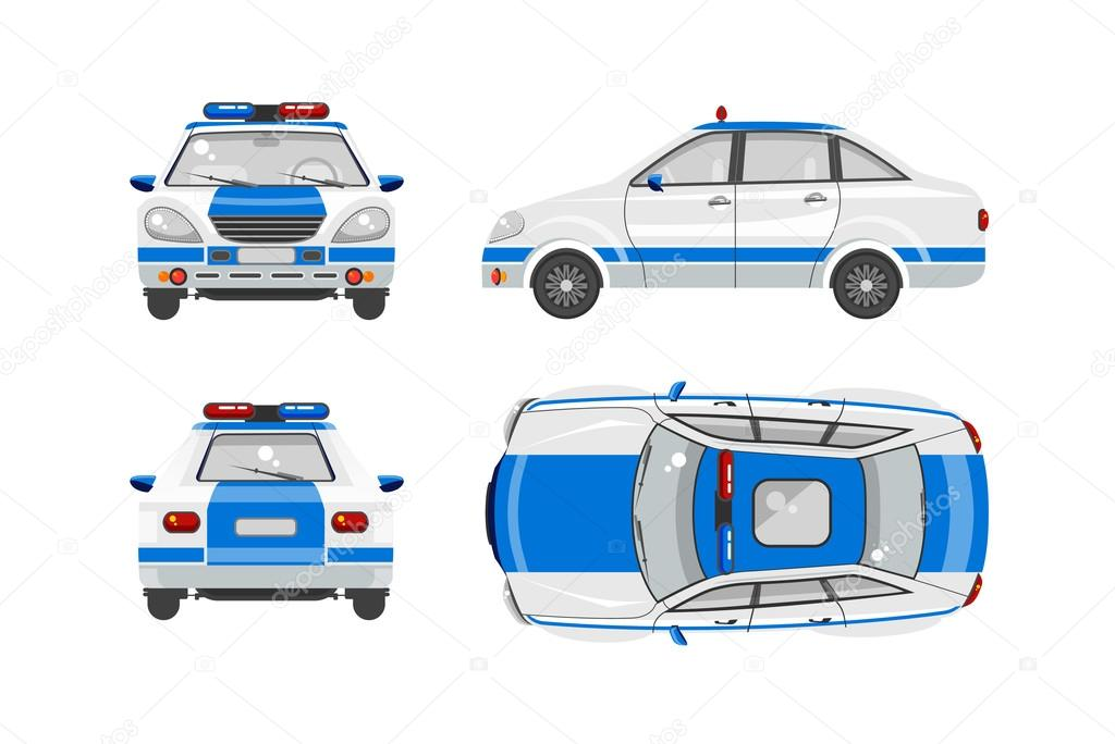 Police Car Website >> Police Car 1 Stock Vector C Marynabolsunova 100547574
