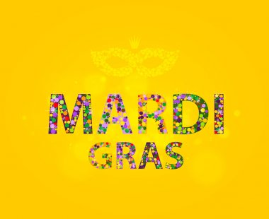 Mardi Gras Background Celebration