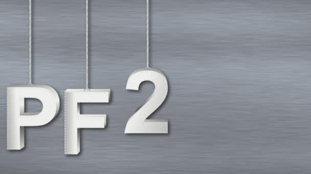 Animace PF 2017 s kovovými znaky
