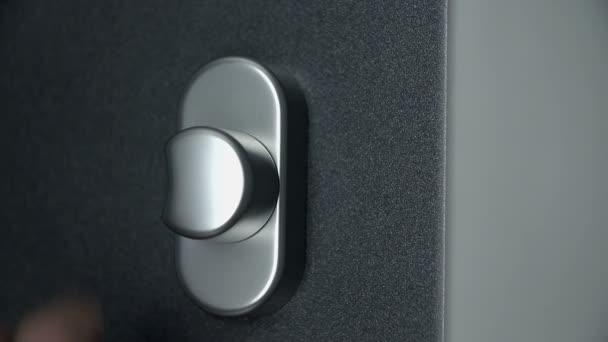 Shot detail knoflíku dveře