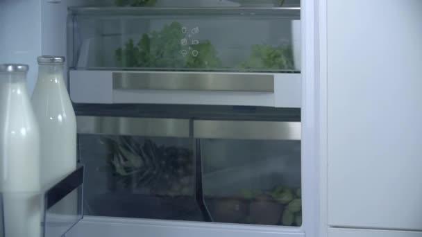 Zavírání zbrusu nové lednice