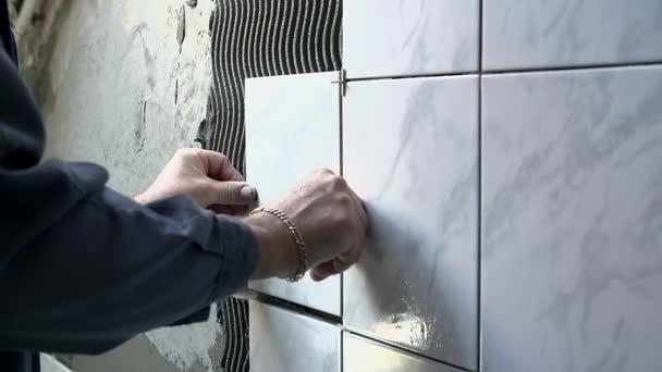 keramik leží keramických dlaždic na stěnu