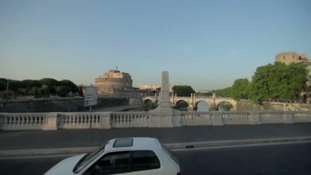 Nádherný most v Římě