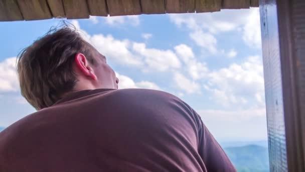 pár na lov tower, pozorování přírody