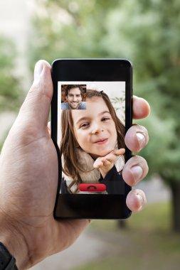 Video Call Via Smart Phone