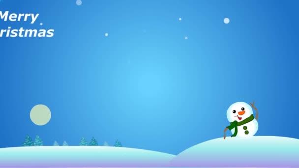 Boldog karácsonyt animált kártya