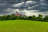 Andechs am Ammersee Oberbayern Deutschland Benediktinerkloster mit Brauerei