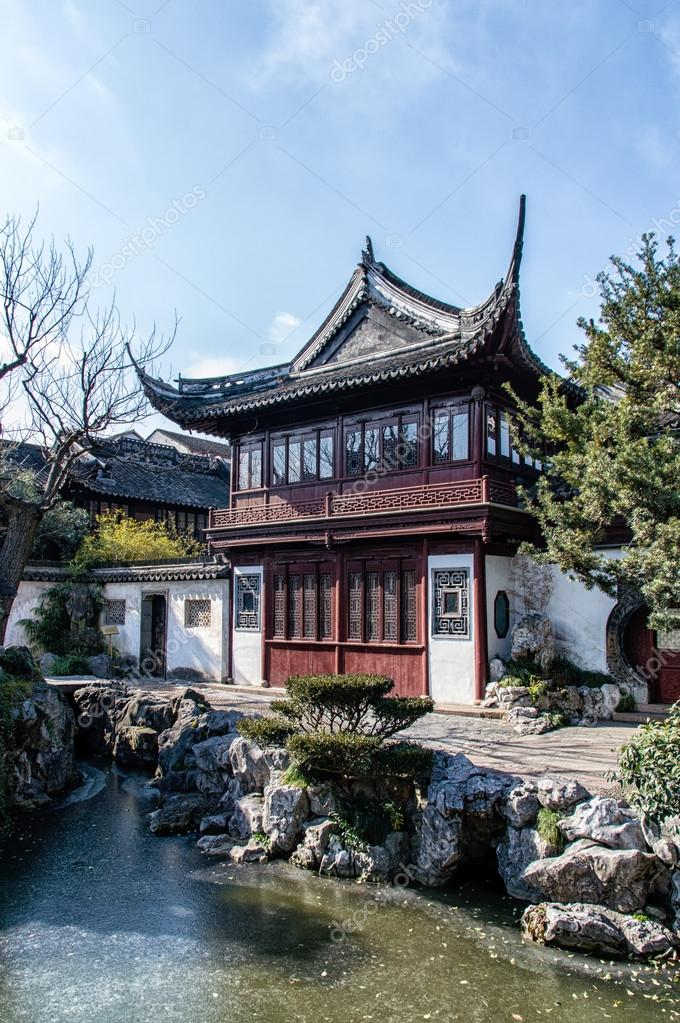 Padiglione nel giardino del mandarino yu yuan shanghai foto stock atosan 98043880 - Giardino del mandarino yu ...