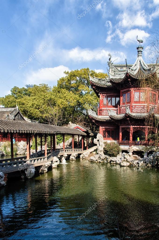 Padiglione nel giardino del mandarino yu yuan shanghai foto stock atosan 98044414 - Giardino del mandarino yu ...