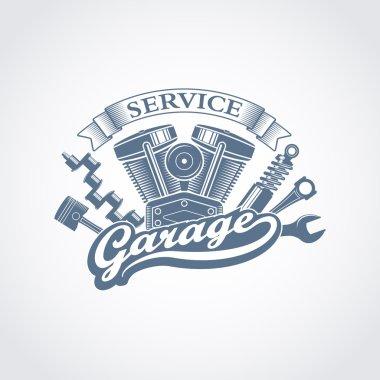 vector garage logoo