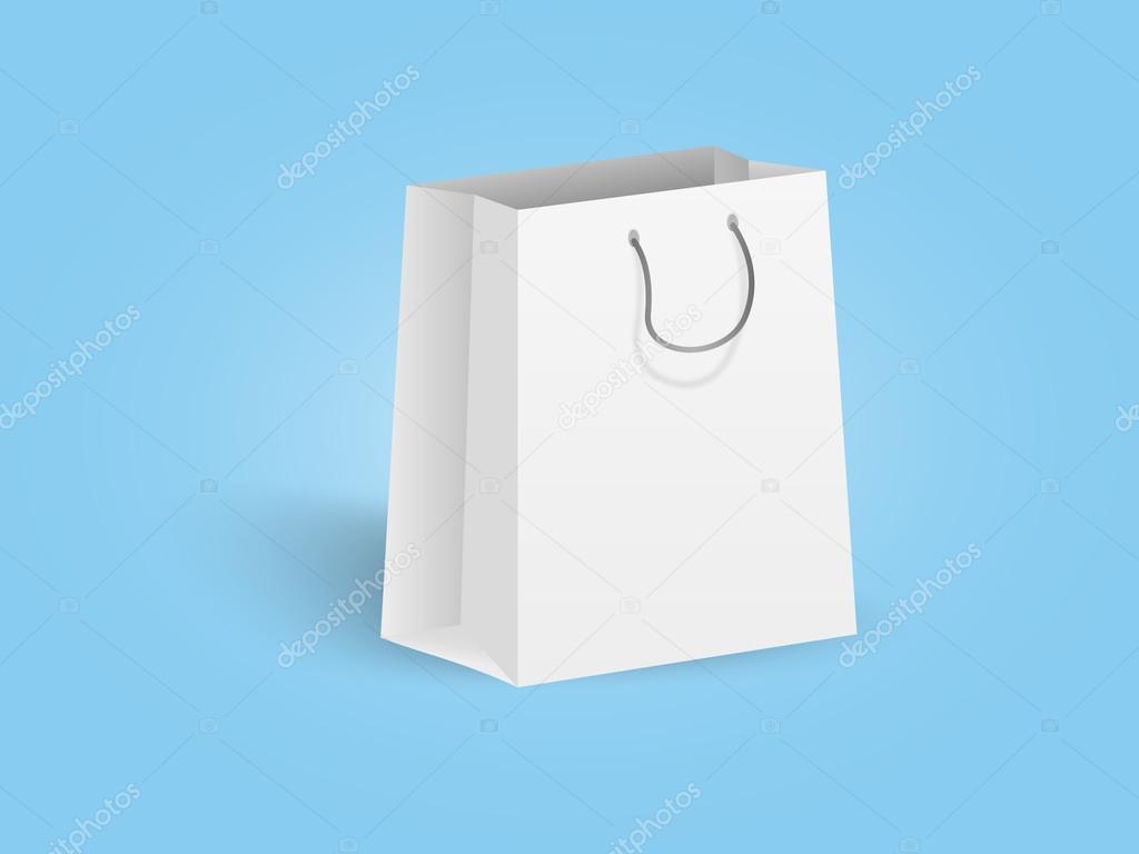 paper bag template — Stock Vector © ribz #77734960