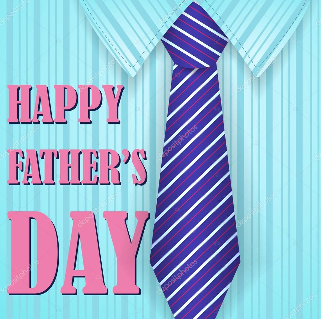 Fathers day holiday card