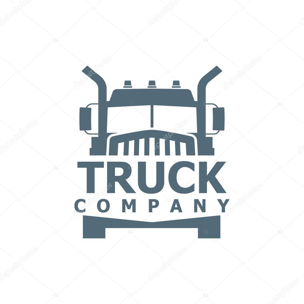 truck vector logo stock vector ribz 88345650