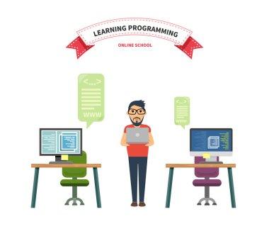 Online School Leaning Programming