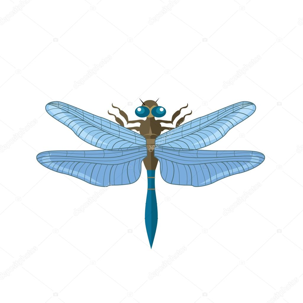 silhouette of a dragonfly stock vector robuart 108985284