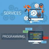 Photo Concept for services and programming